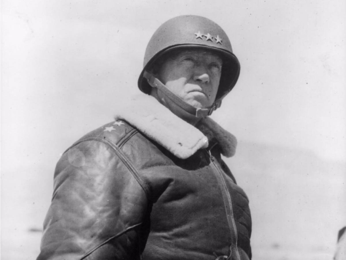 General George Patton – Jockey