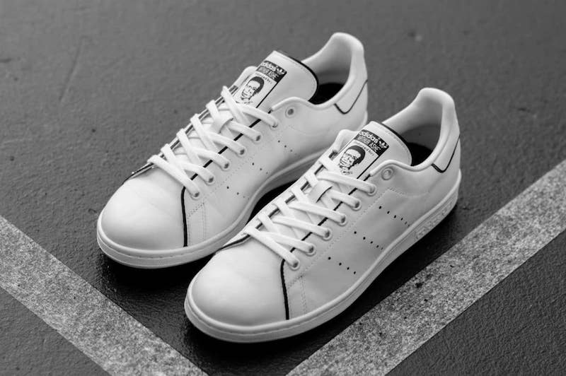 The concept for the reimagined Stan Smith signature shoe was inspired by the on-court rivalry between the two electrifying players who were also friends ...